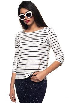 Recale T-shirt 3/4 sleeves Pennyblack | 20000055 | RECALE-312001