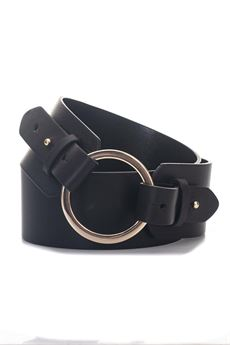 Semitono Leather belt big size Pennyblack | 20000041 | SEMITONO-202001