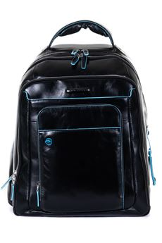 Leather rucksack Piquadro | 5032307 | CA1813B2N