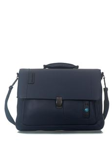 Flap-over computer bag with iPad®/iPad®Air/Air 2 Piquadro | 20000007 | CA3111P15BLU3