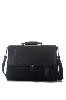 Flap-over computer bag with iPad®/iPad®Air/Air 2 Piquadro | 20000007 | CA3111P15N