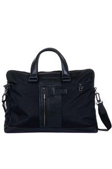 Two-compartment work satchel bag Piquadro | 20000007 | CA3339BRN