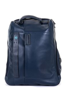 Leather rucksack Piquadro | 5032307 | CA3349P15BLU3