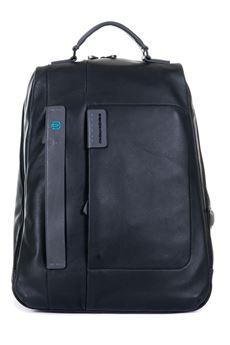 Leather rucksack Piquadro | 5032307 | CA3349P15N