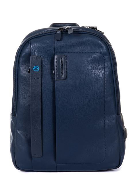 Leather rucksack Piquadro | 5032307 | CA3869P15BLU3