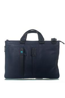 Leather satchel Piquadro | 20000007 | CA4021P15BLU3