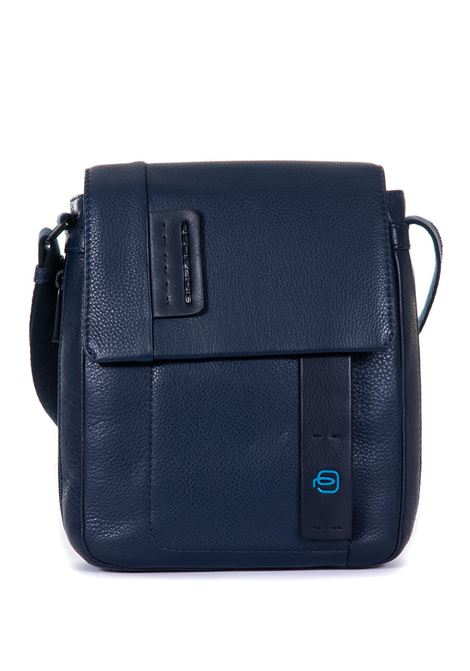 Leather shoulder bag Piquadro | 20000001 | CA4112P15BLU3