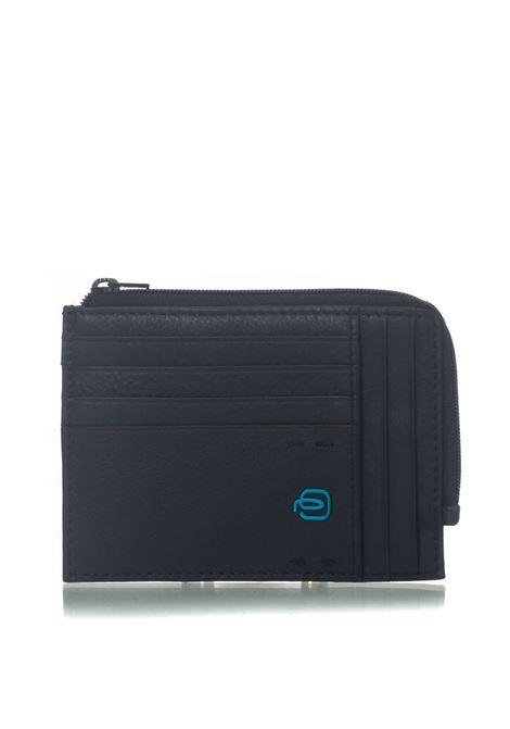 Bustina portamonete, documenti e carte di credito Piquadro | 5032240 | PU1243P15BLU3