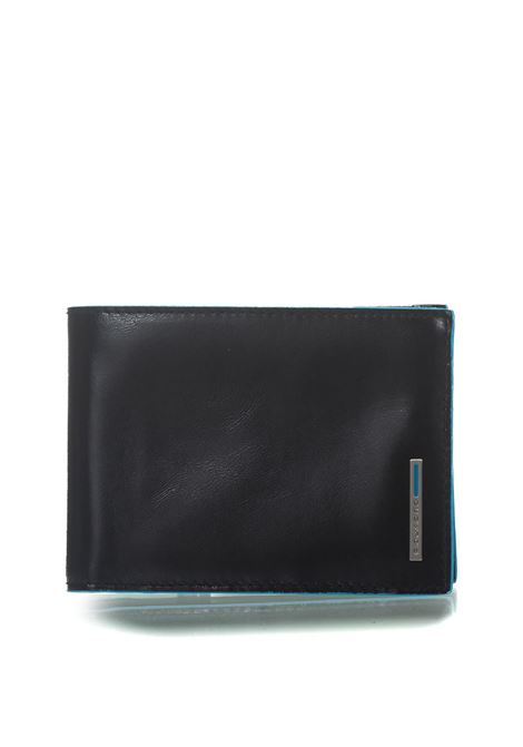 Men's wallet with coin case Blue Square Piquadro | 63 | PU1392B2RN