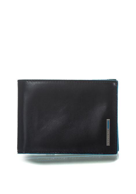 Portafoglio uomo con portamonete Blue Square Piquadro | 63 | PU1392B2RN