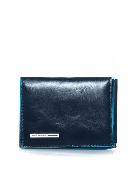 Wallet with money clip Piquadro | 63 | PU3890B2BLU2