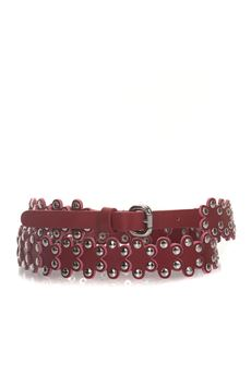Thin belt in leather Red Valentino | 20000041 | PQ0T0A08-XIQC61