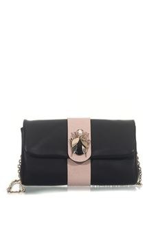 Clutch leather bag Red Valentino | 31 | PQ2B0A10-CPRCRE