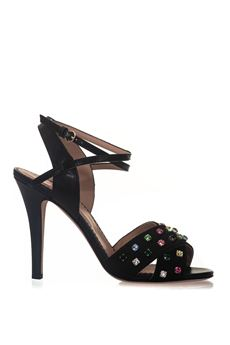 Twisted sandal Red Valentino | 20000009 | PQ2S0A17-BCY0NO
