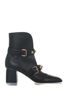 Leather ankle boots Red Valentino | 5032324 | PQ2S0A23-AYV0NO