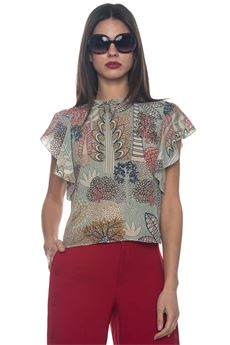 Camicia in seta a fantasia Red Valentino | 6 | PR0AA0W0-3N2A03
