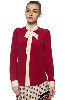 Blouse in silk Red Valentino | 6 | PR3AB1J0-2MJ487