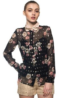 Silk fantasy blouse Red Valentino | 6 | PR3AB1K1-3GG0NO