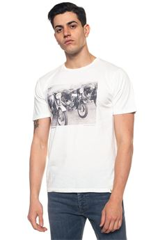 T-shirt Bike Roy Rogers | 8 | TSHIRT-BIKEBIANCO