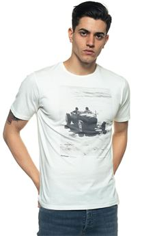 Car T-shirt Roy Rogers | 8 | TSHIRT-CARBIANCO