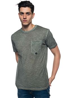 Pocket Fade T-shirt Roy Rogers | 8 | TSHIRT-POCKET FADEMILITARE
