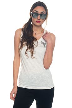 Crystal D. Horse Tank Plain Tank US Polo Assn | 46 | 43751-50782101