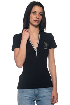 Christine Polo SS polo shirt in jersey US Polo Assn | 2 | 43760-47041199
