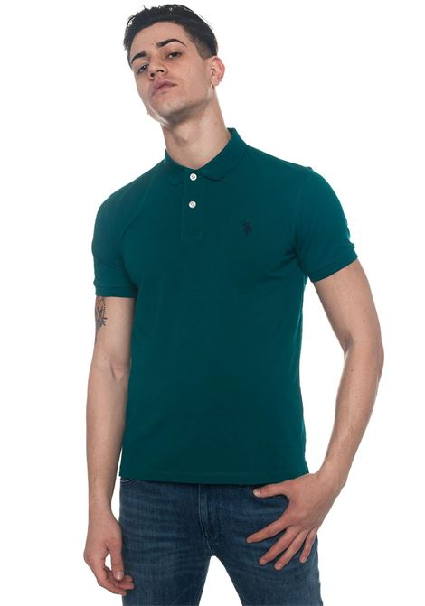 Institutional Polo polo shirt in cotton piquet US Polo Assn | 2 | 43762-41029148