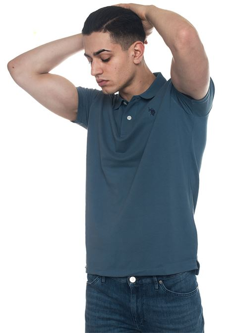 Institutional Polo polo shirt in cotton piquet US Polo Assn | 2 | 43762-41029173