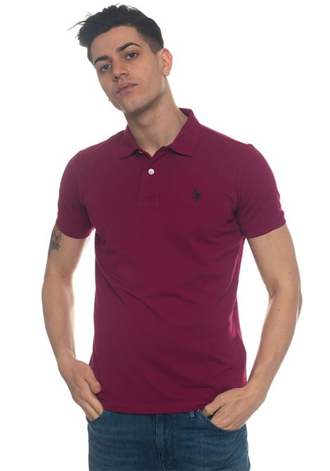 Institutional Polo polo shirt in cotton piquet US Polo Assn | 2 | 43762-41029358