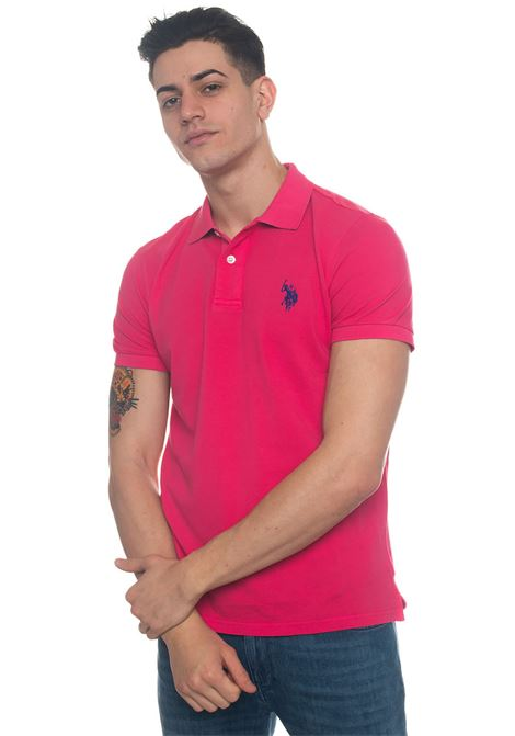 Polo in cotone piquet Uspa Player Polo US Polo Assn | 2 | 43793-43414450
