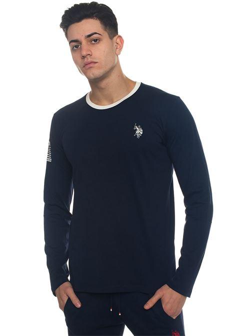 Uspa Sport Tee Ls T-shirt US Polo Assn | 8 | 43802-49351177
