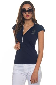 Angelina Polo Ss polo shirt in jersey US Polo Assn | 2 | 43869-47041177