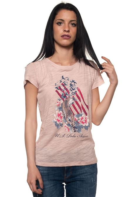 Tiger Flo Tee Ss T-shirt US Polo Assn | 8 | 43904-50782225