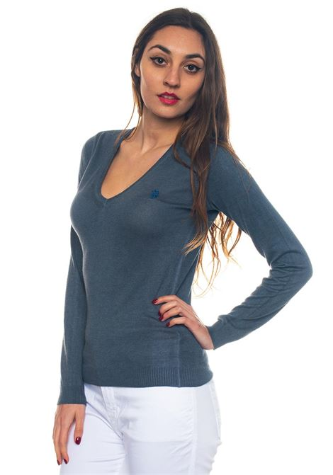 Pullover collo a V Travel V Nek Knit US Polo Assn | 7 | 43989-51758477