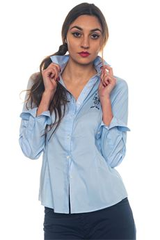 Camicia da donna in cotone Donelle Shirt Ls US Polo Assn | 6 | 43994-51702130