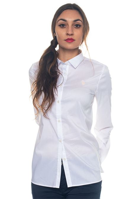 Camicia da donna in cotone Doris Shirt Ls US Polo Assn | 6 | 43995-51702100