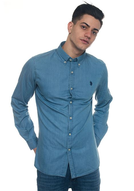 Lester Denim shirt US Polo Assn | 6 | 44217-51633130
