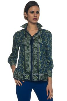 Camicia in seta Versace Collection | 6 | G35366-G603744G7343