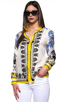 Long sleeves Blouse Versace Collection | 6 | G35372-G603917G7001