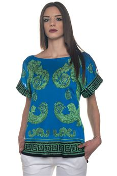 Maglia in jersey fantasia Versace Collection | 2035781291 | G35447-G603739G7375