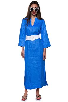 Long blouse Vincenzo De Lauziers | 20000010 | CAFTANO-CA08224