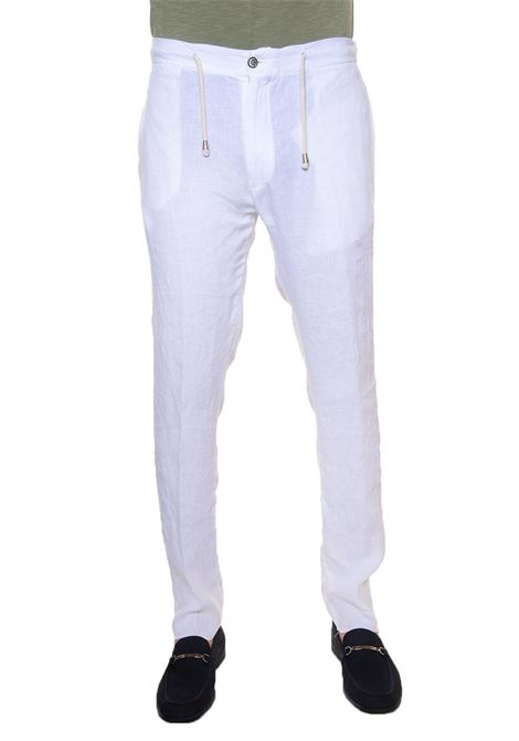 Linen trousers with drawstring Vincenzo De Lauziers | 9 | PANTALACCIO-POSITANO1
