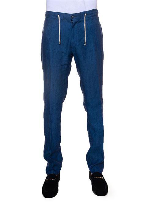 Linen trousers with drawstring Vincenzo De Lauziers | 9 | PANTALACCIO-POSITANO5