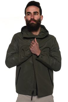 hooded harrington jacket Woolrich | -276790253 | WOCPS2637-EM036507