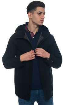 Gtx Atlantic Coat hooded harrington jacket Woolrich | 20000057 | WOCPS2656-GT02333