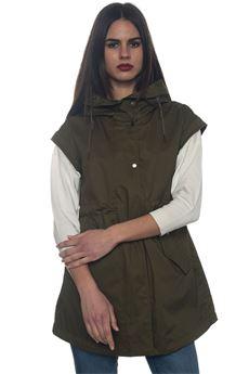 W'S Long Vest parka Woolrich | 20000057 | WWGIL0038-LM106493