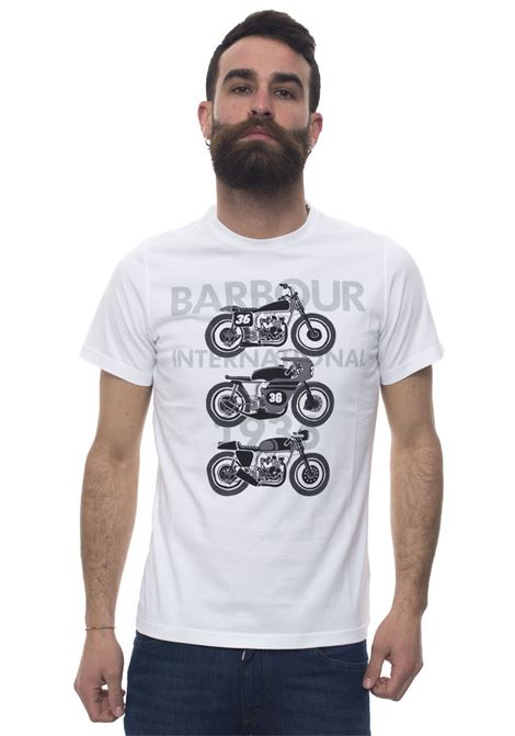 BATEE0356 Round-necked T-shirt Barbour | 8 | BATEE0356-MTSWH11