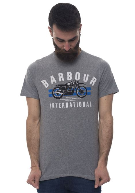 BATEE0357 Round-necked T-shirt Barbour | 8 | BATEE0357-MTSGY52