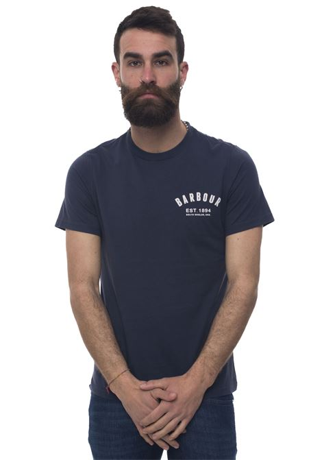 BATEE0374 Round-necked T-shirt Barbour | 8 | BATEE0374-MTSNY31
